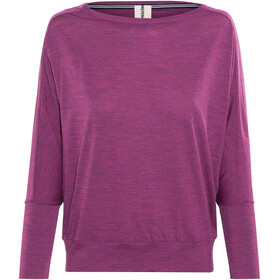 super.natural Kula Top - T-shirt manches longues Femme - rose
